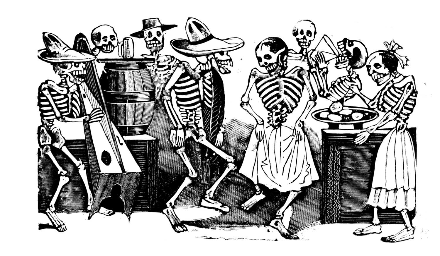 Jos guadalupe posada skulls skeletons and macabre mischief jos guadalupe posada skulls skeletons and macabre mischief illustration chronicles biocorpaavc Images